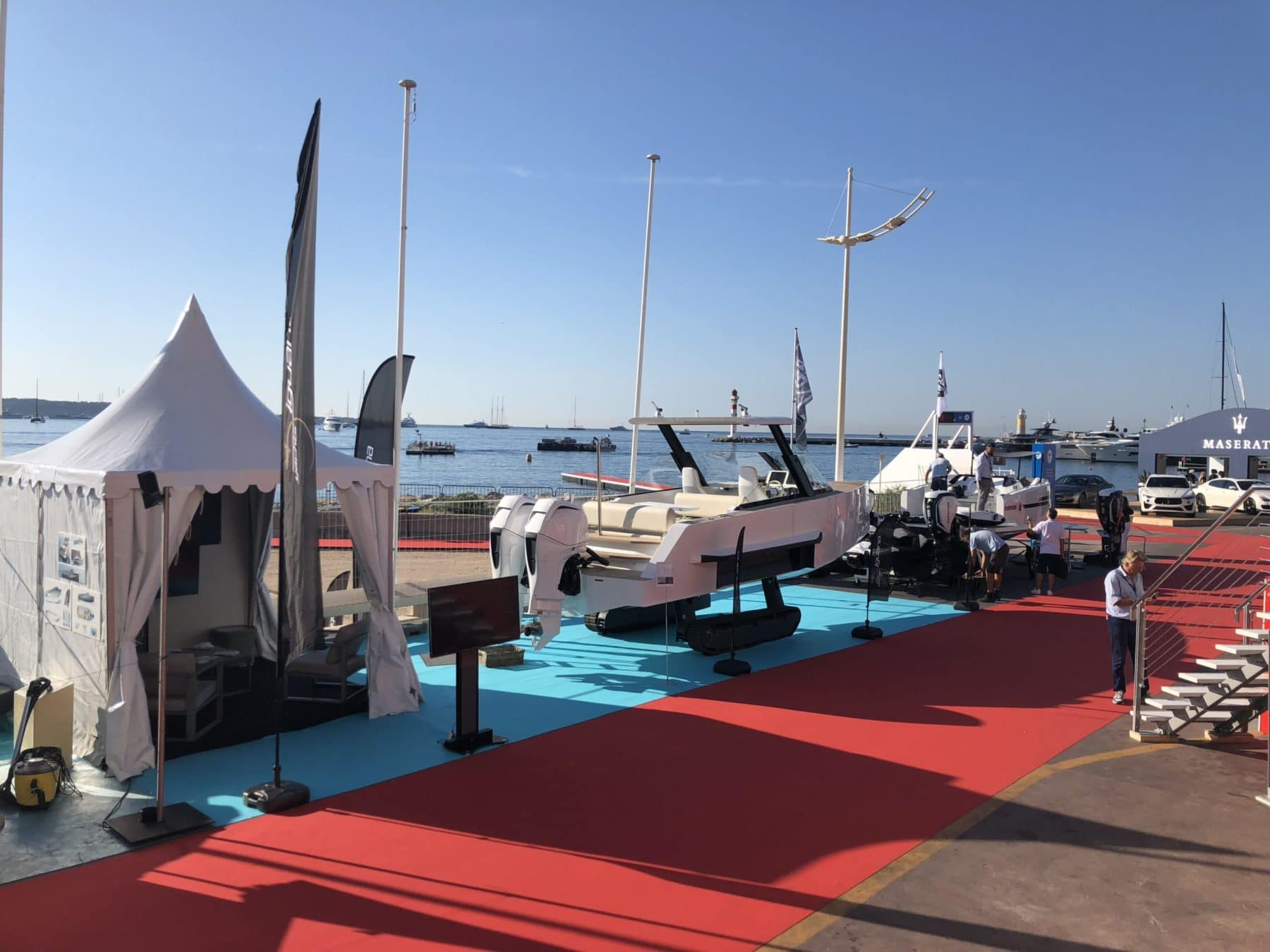 Iguana Yachts at Cannes Yachting Festival