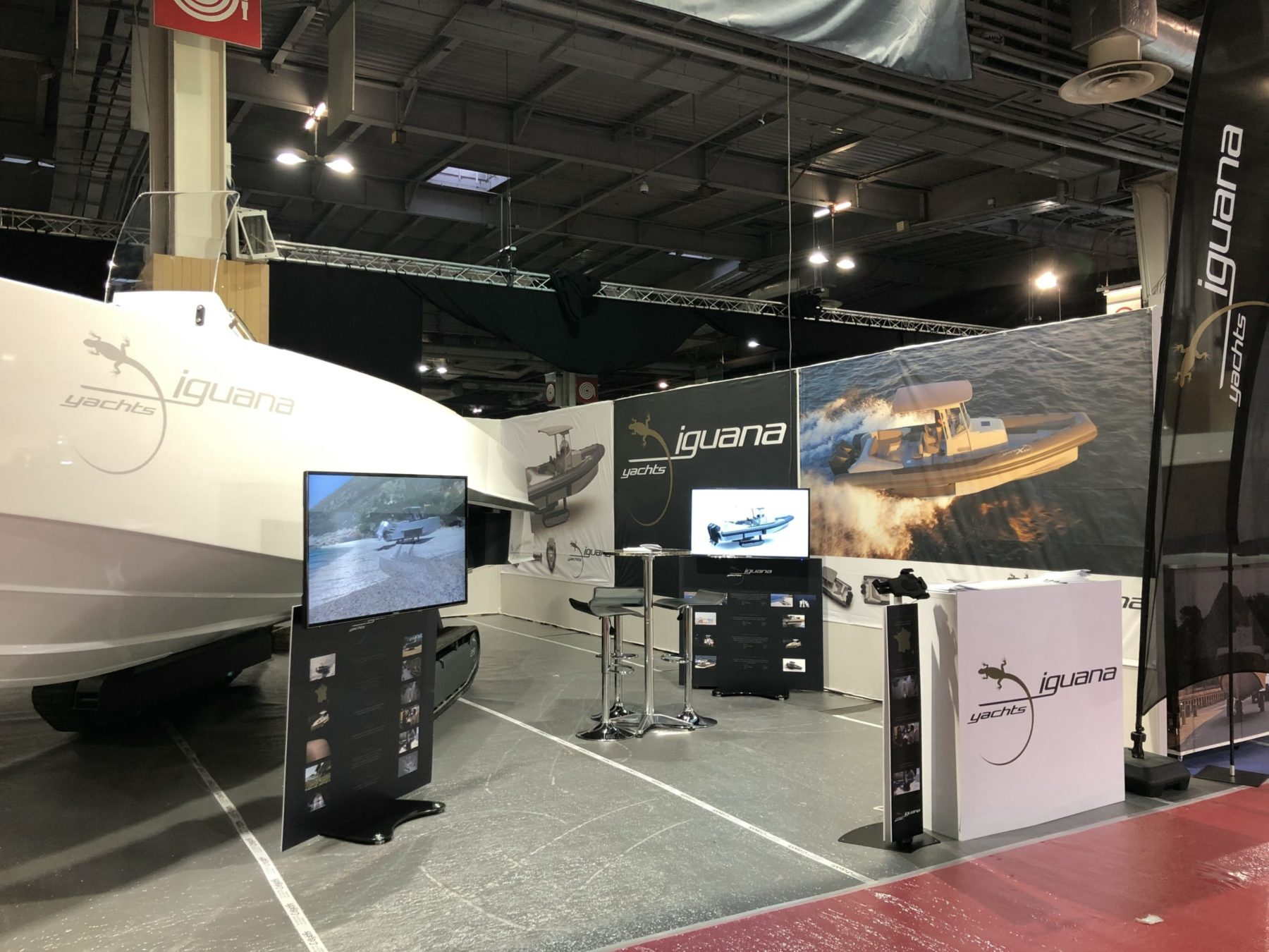 iguana yachts stand in paris