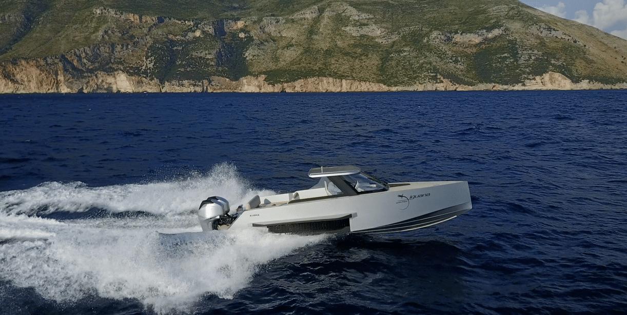 Iguana Commuter sailing in Albania