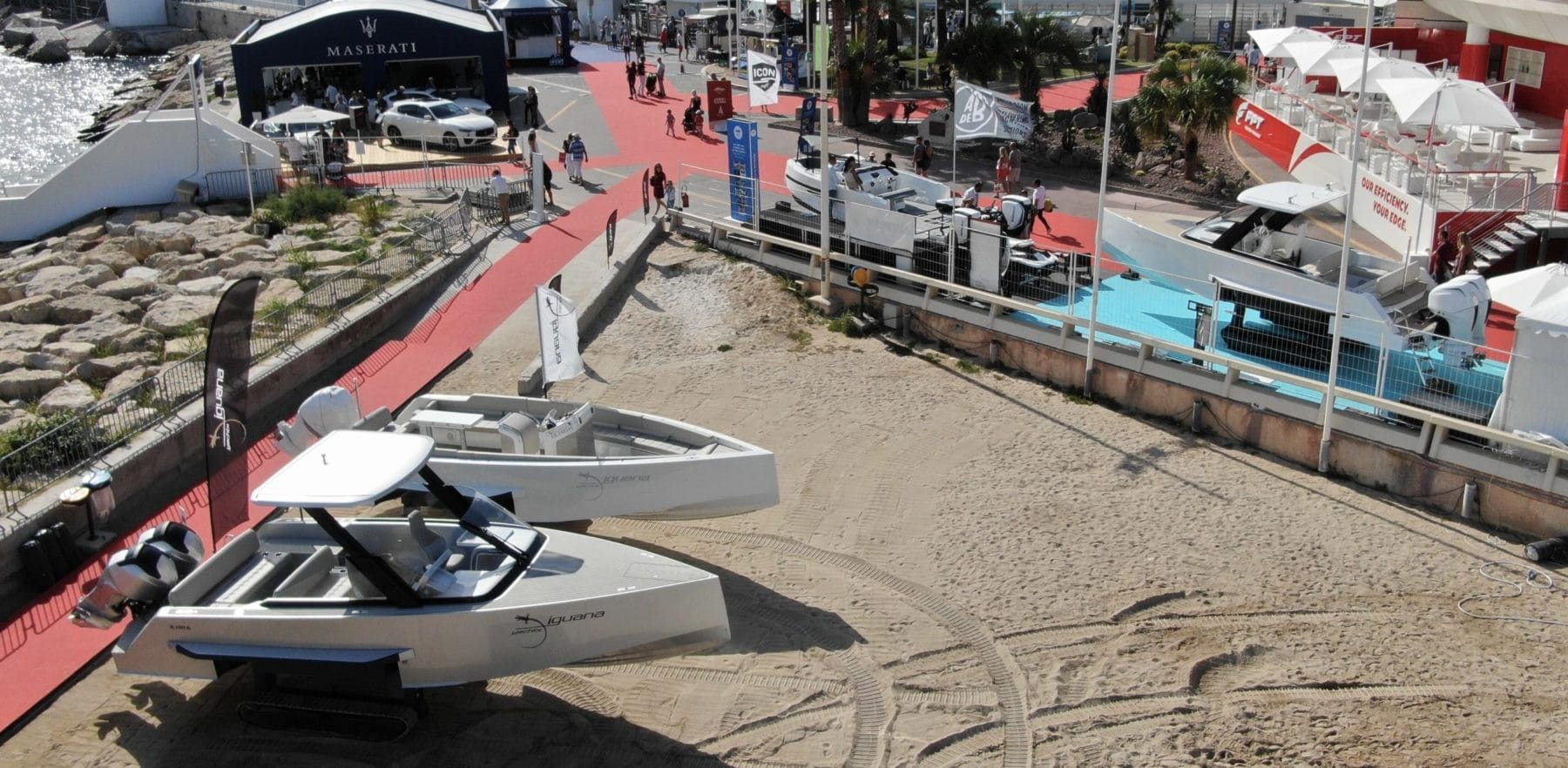 Boat show in cannes