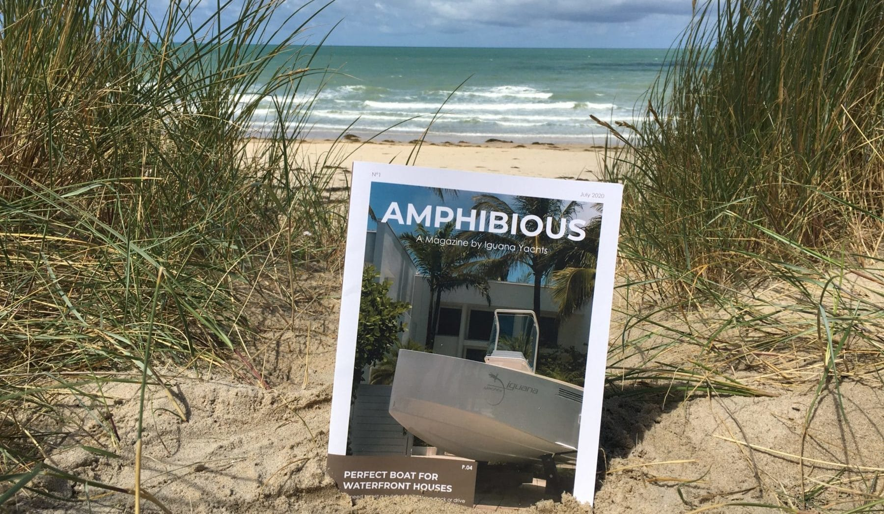 Amphibious Magazine Cover