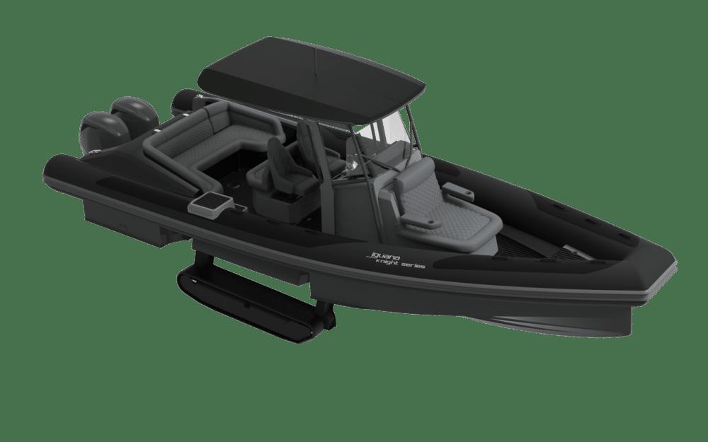 Iguana Knight model in black
