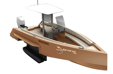 Luxurious and design Iguana Exclusive boat