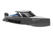 High-tech Iguana Commuter amphibious boat