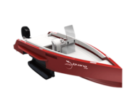 Iguana Original boat in red