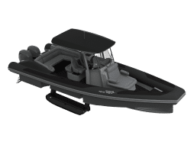 Iguana Knight RIB model in black